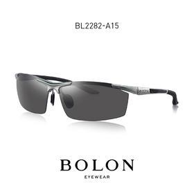 BOLON暴龙偏光太阳镜运动型方框墨镜男潮开车个性眼镜BL2282