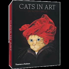 猫之艺术(二十张明信片,礼盒套装)