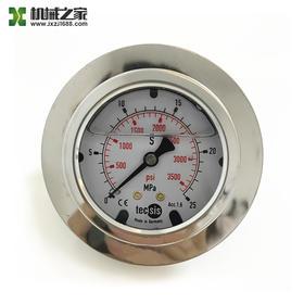 混凝土泵车压力表搅拌压力表泵送压力表控制压力表25/45/60MPA兆帕