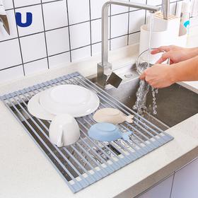 便携  折叠 沥水垫 硅胶沥水架 防水餐具茶具沥水垫锅垫餐垫碗垫