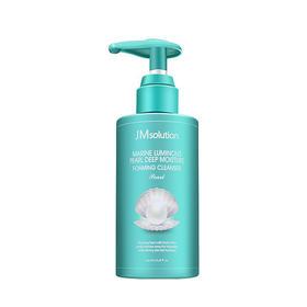 韩国JM solution海洋珍珠氨基酸洗面奶 200ml大容量   深层清洁美白
