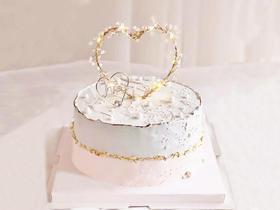心形花环·抖音创意灯光蛋糕