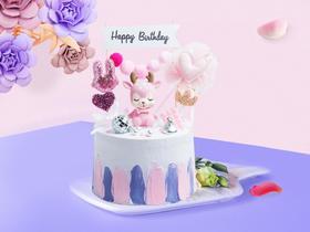 萌小鹿·卡通网红情景蛋糕