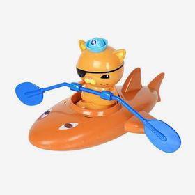 海底小纵队 呱唧猫的鲨鱼皮划艇