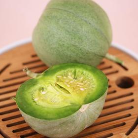 山东绿宝甜瓜香瓜  新鲜水果 皮薄肉厚  脆甜多汁 果肉留香  自然生长 5斤( 7-11个)包邮