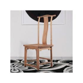 核桃木靠背椅