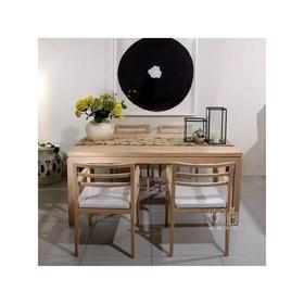 简约现代实木餐桌