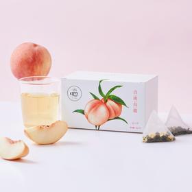 [白桃乌龙]仿佛喝到了新鲜白桃 15包/盒 两盒装