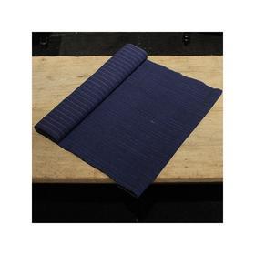 手工蓝色双面条纹棉布HL-DXY-05
