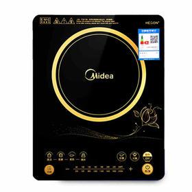 美的(Midea)家用电磁炉RT2169 酷薄设计 触摸版多功能智能大火力电池炉
