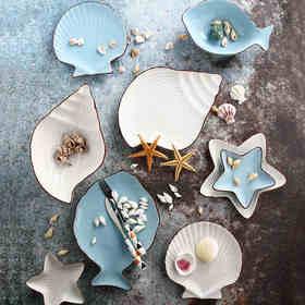 地中海海洋系列陶瓷餐具