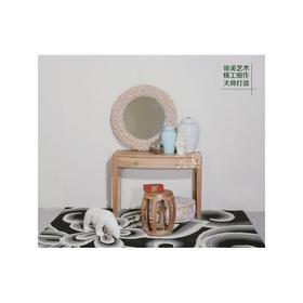核桃木化妆台