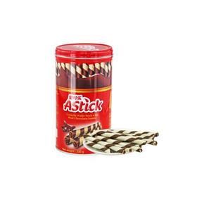 爱时乐巧克力味威化卷心酥330g罐装