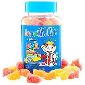 【海外购】GummiKing, DHA Omega-3儿童软糖