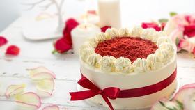 【活动赠品】礼颂至品红丝绒圆舞曲6寸蛋糕