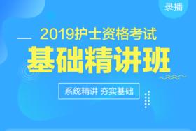 【医疗卫生】2019护士资格考试基础精讲班