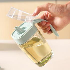 【点亮你的厨房生活】透明玻璃油壶 PP+玻璃材质 防尘不漏滴 无铅玻璃材质环保健康 内外兼修 诚意之作