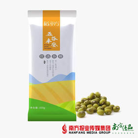 【次日提货】稻平方 五谷丰登 绿豆  350g/袋