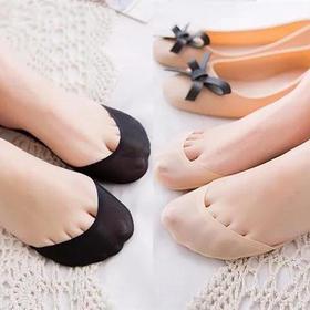 【超隐形船袜】不露边!不掉跟!各种鞋子完美搭配 脚垫设计舒适减压 透气无痕  硅胶防滑后跟  TX0045