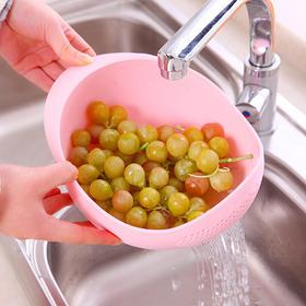 【用了它 洗什么食材都不会跑出来】优质PP材质 环保健康一盆多用 轻松应对洗菜水果漏出溢出