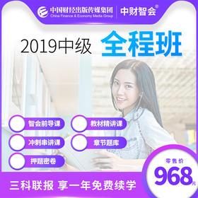 【在线课程--全程班】2019中级会计专业技术资格(职称)考试《中级会计实务》《经济法》《财务管理》