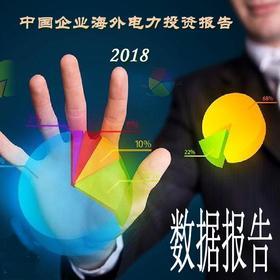 中国企业海外电力投资报告(2018)