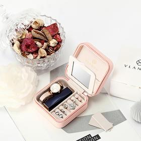 【马卡龙便携首饰盒】VLANDO便携式首饰盒 饰品收纳  旅途随行
