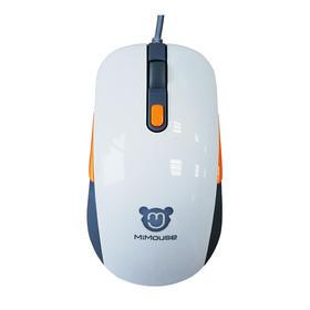 咪鼠智能语音鼠标电脑智能声控语音打字台式鼠标有线办公科大讯飞 MiMouse