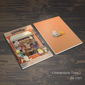 现货区|寄卖|探险活宝全员收藏册《adventure time》