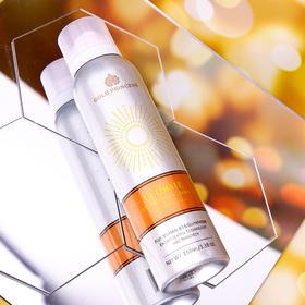 「光感可变色  智能检测紫外线」泰国皇家防晒GOLD PRINCESS清爽不油腻亮白肌肤补水保湿隔离防紫外线防晒喷雾150ml防晒指数SPF50/PA+++