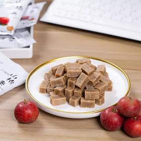 0添加山楂条  •  酸甜开胃  味道鲜美 好吃不粘牙  口感细腻 不怕胖的零食