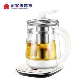 苏泊尔(SUPOR)养生壶电水壶全自动玻璃多功能电热烧水茶壶家用1.5L SW-15Y06 白色