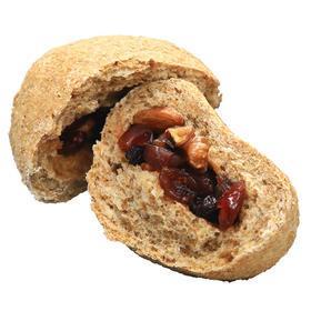 全麦坚果面包无蔗糖无油欧包健身代餐饱腹每日坚果包健康粗纤杂粮
