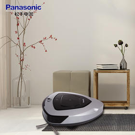 松下(Panasonic)扫地机器人MC-RS577(钛泽银)智能吸尘器
