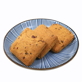 全麦饼干 紫薯燕麦饼干无蔗糖代餐粗粮 压缩饼干 健身饱腹零食品