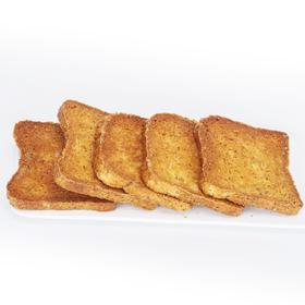 全麦烤吐司片无油刷蛋奶粉面包片粗粮孕妇健身饱腹休闲零食450克