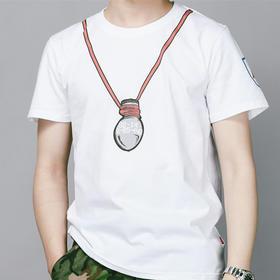 【纯棉舒适】浴火南疆主题文化T恤