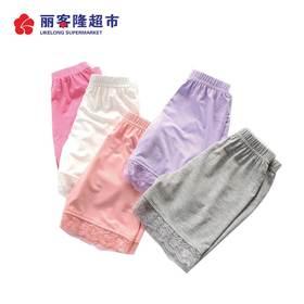 儿童安全裤 夏款女童安全裤 韩版儿童奥代尔短裤 蕾丝边款