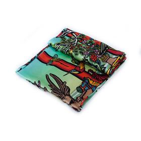 卜桦 《北京水深》艺术丝巾