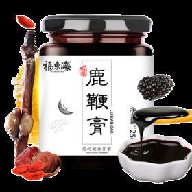 福东海 鹿鞭膏250g/瓶 可搭配人参鹿鞭片梅花鹿茸鹿血鹿筋等泡酒食材