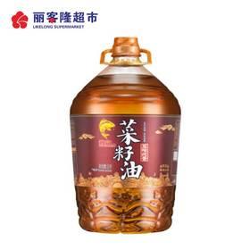 鲤鱼牌 食用油 四川 非转压榨纯香菜籽油 5L