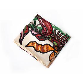卜桦《北京小妞》 艺术丝巾