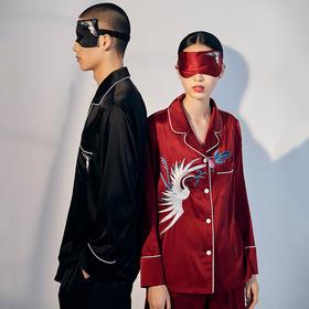 【真丝款预售4月20日发货】故宫·蝠鹤佳音系列睡衣套装│在家,也能美成娘娘的模样