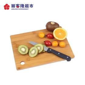 双枪天然竹水果砧板迷你小菜板小号案板刀板砧板ZB2807