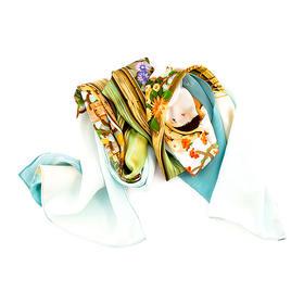 孙莹《远航》艺术丝巾