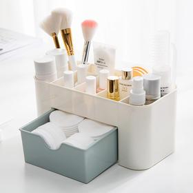 家用多功能首饰化妆品收纳盒颜色随机
