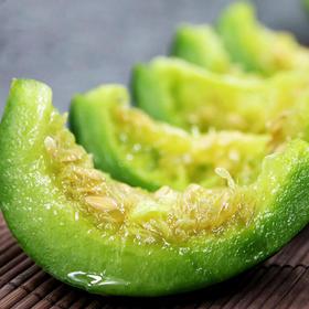 自然基地种植 烟台绿宝甜瓜 | 清香甜蜜 肉质脆嫩 新鲜采摘  4个装