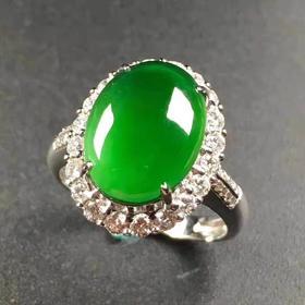 【JG9031720】满绿戒指