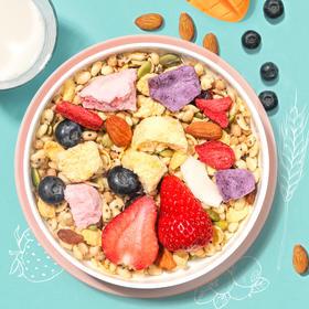 奇亚籽酸奶水果燕麦片 3种酸奶4种水果5种坚果谷物 一站式营养补给早餐