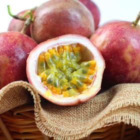 紫色广西百香果 酸爽可口 香味诱人 5斤装(单果65-75g)大果包邮